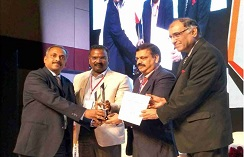 From left Mr. Madhukumar, COO, Sami Labs Ltd, Shri Udaya Bhaskar, DG Member, Pharmexcil, Shri Madan Mohan Reddy, Chairman, Pharmexcil, Aurobindo Pharma Ltd and Shri Dinesh Dua, Vice Chariman Pharexcil Nectar Life Sciences Ltd