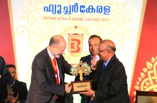 Dr. Muhammed Majeed, Founder & Managing Director, Sami Labs Limited was honoured with the prestigious IP and R & D Award by Future Kerala Financial Daily at glamorous Brand Award Function at the Taj Gateway Hotel, Kochi on the 9th February, 2018. The award was presented by Mr. Fabian Hamilton, MP and Shadow Minister for Defence & Foreign Affairs, Government of the United Kingdom in the presence of Shri Alphons Kannamthanam, Minister for Tourism, Government of India.