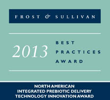 Sabinsa Receives Frost & Sullivan's 2013 North American Integrated Prebiotic Delivery Technology Innovation Award